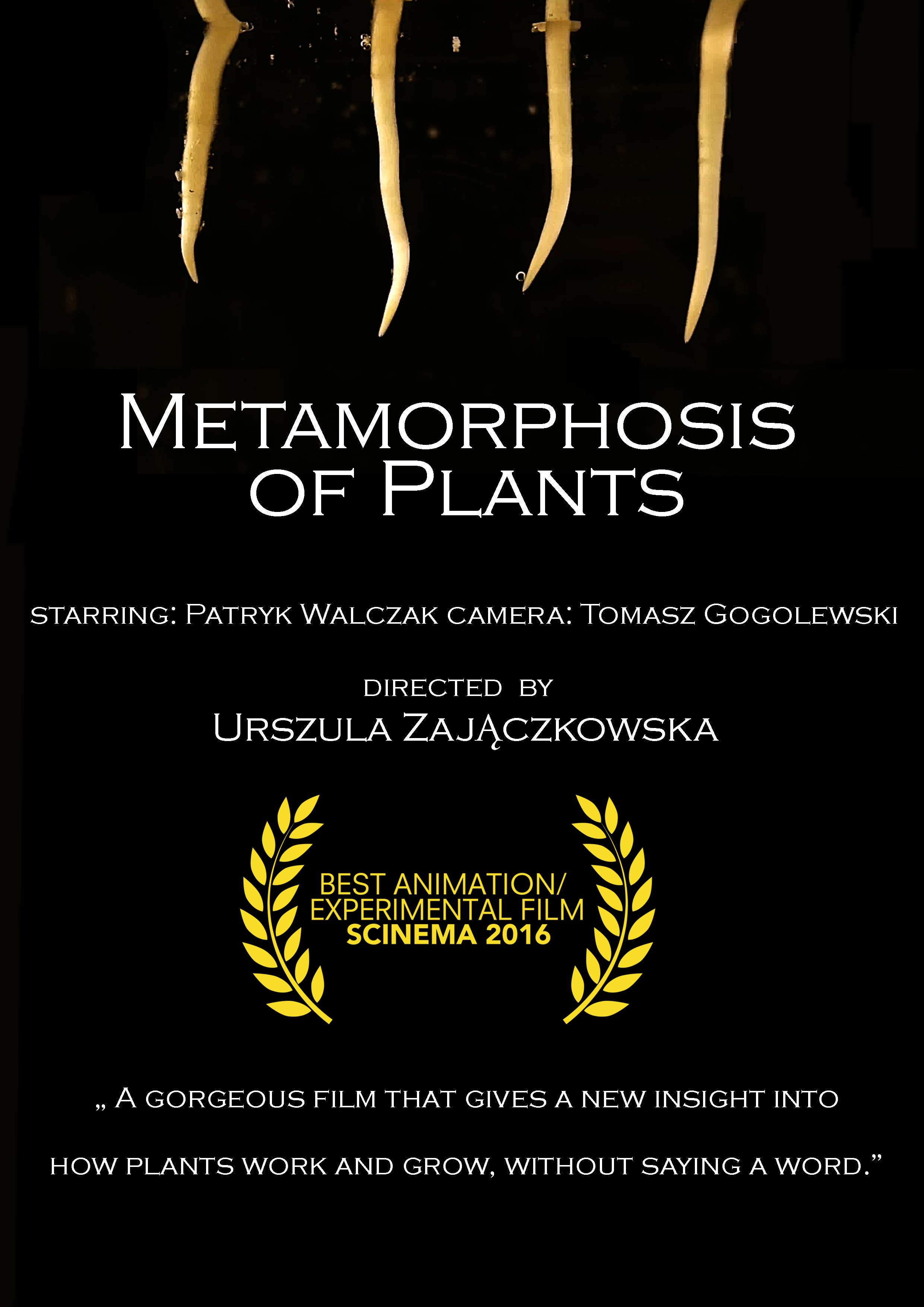 Metamorphosis pf Plants